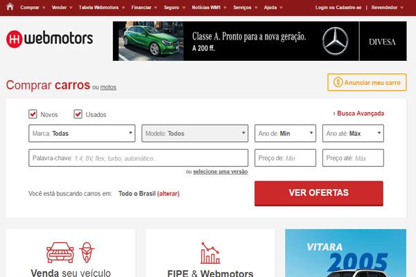 Site Webmotors   www.webmotors.com.br