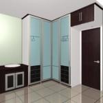 O guarda-roupa de canto é ideal para os quartos extremamente compactos (Foto: Divulgação)