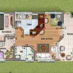 Planta de Casas de Fazenda (5)