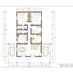 Planta de Casas com 4 Quartos (5)