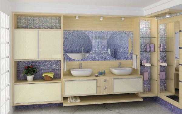 Modulados Para Banheiro : Fotos de banheiros modulados