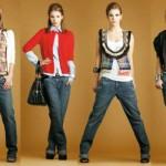 Calça saruel jeans feminina em diferentes modelos. (Foto: Divulgação)