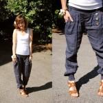 A calça saruel jeans permite montar um look despojado. (Foto: Divulgação)
