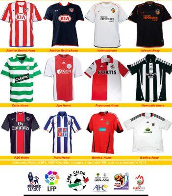 Camisetas de Times Europeus - Onde Comprar 7e07359b6ddbb
