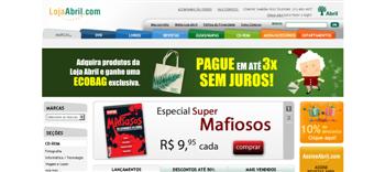 Loja Abril.com – Catálogo de Protudos, Ofertas