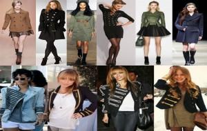 Moda Militar Inverno 2010-2011- Fotos, Modelos