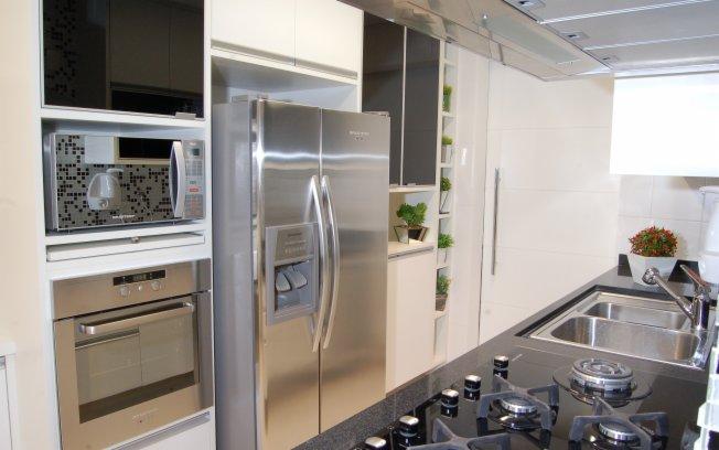 Casas com eletrodomésticos embutidos