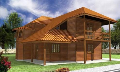 Casas Pré-Fabricadas Em Madeira SP