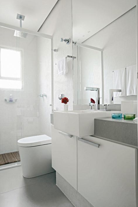 Espelhos para Banheiro: Modelos, Idéias de decoração