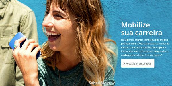 Trabalhe Conosco Motorola, Enviar Currículo