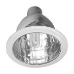 As luminárias de embutir são muito usadas em lojas