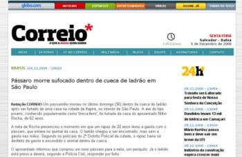Correio da Bahia Online, Classificados, Empregos
