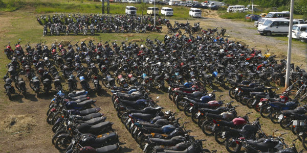 Leiloes de Carros Apreendidos(Foto: Divulgação)