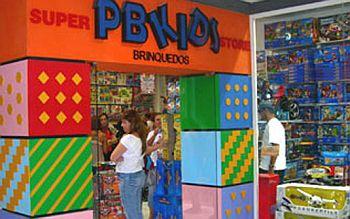 Lojas Pbkids Brinquedos Endereços, Catálogo