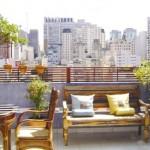Paisagismo para terraço de apartamento