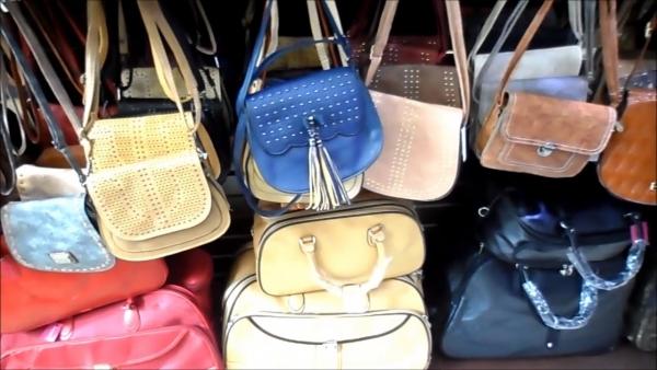 Bolsas de vários tamanhos