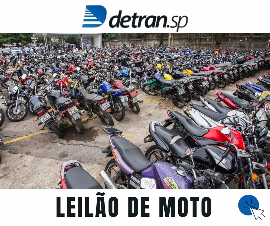 Leilões de Motos Apreendidas em SP