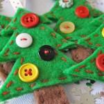 Patchwork na sua decoração de Natal. (Foto: Divulgação)
