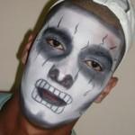 Os homens também podem abusar da criatividade em suas maquiagens de Halloween. (Foto: Divulgação)