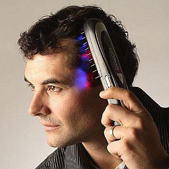 Escova a Laser para Queda de Cabelo