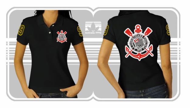 Camiseta Feminina do Corinthians