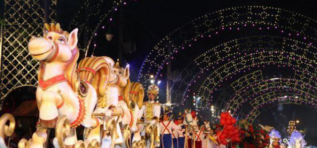 O Natal Luz teve início no mês de novembro e se extende até janeiro de 2017 (Imagem: Divulgação)