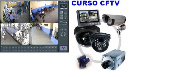 Curso de CFTV em SP, Curso de Alarme e Vídeo CFTV