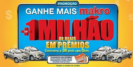 Promoção Ganhe Mais Makro, www.ganhemaismakro.com.br