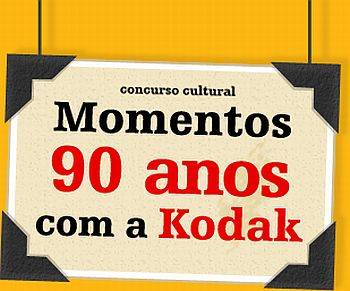 Promoção Kodak Momentos 90 Anos com a Kodak