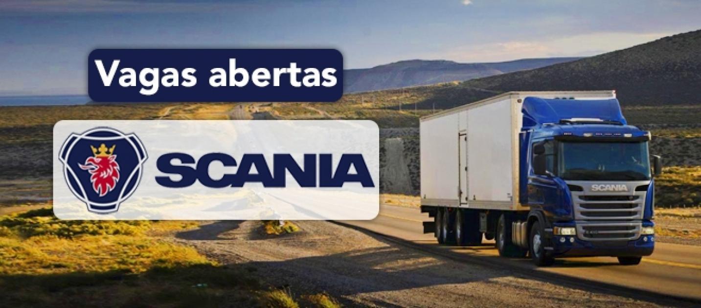 Vagas de Estágio Scania, Trabalhar na Scania Fábrica de Caminhões