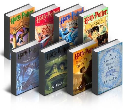 Submarino Livros Harry Potter