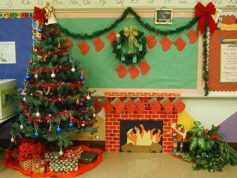 Decoração de Natal Para Sala de Aula. (Foto: Divulgação)