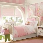 A decoração do quarto infantil feminino deve ser delicada. (Foto: Divulgação)