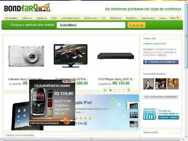 Bondfaro Notebooks site