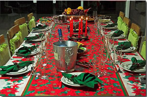 Como Montar uma Mesa para Ceia de Natal