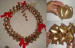 Decoração De Natal Com Material Reciclável