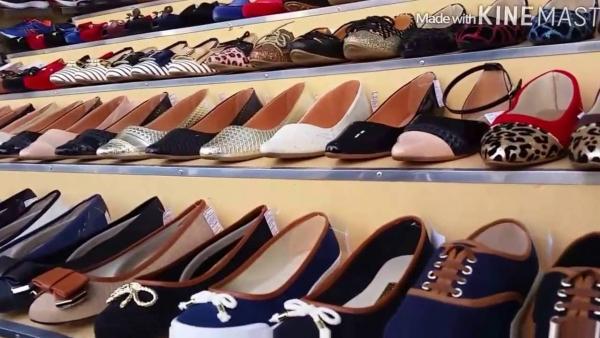 Inúmeras sapatilhas