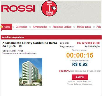 www.meuapecom1centavo.com.br, Site Meu Apê com 1 Centavo