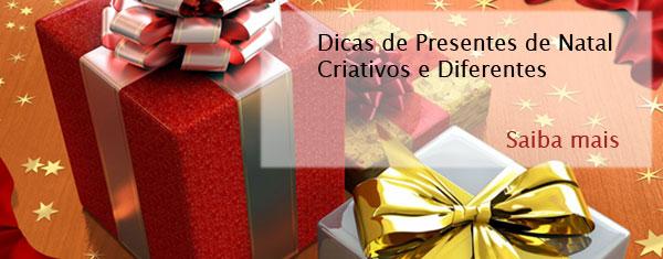 Dicas de Presentes de Natal Criativos e Diferentes