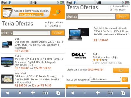 www.terraofertas.com.br, Site Terra Ofertas