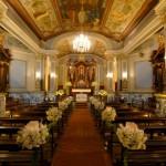 decoração para igrejas