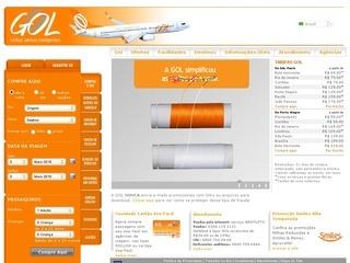 voegol.com.br, Site da Voegol