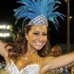 As escolas de samba produzem adereços para as participantes da agremiação (Foto: Divulgação)