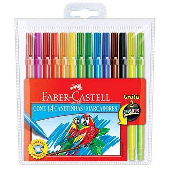 Canetas Hidrográficas Faber Castell
