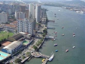 Hotéis em Santos SP Ponta da Praia