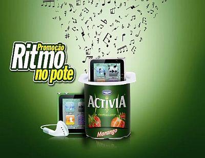 Promoção Activia Ritmo no Pote