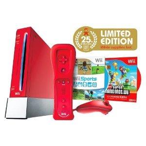 Console Nintendo Wii Vermelho Onde Comprar