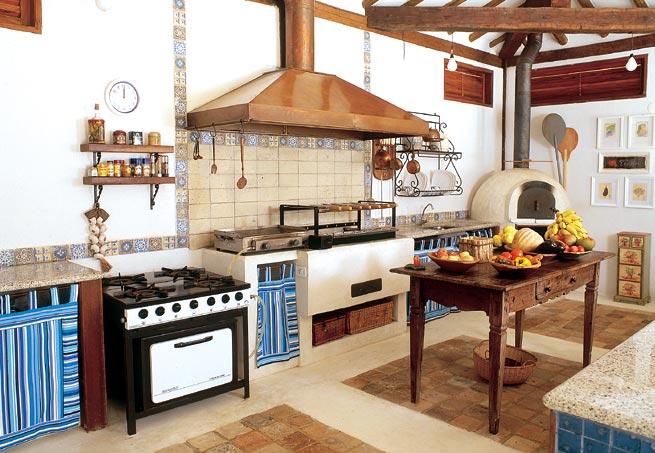 Decora o de cozinhas r sticas - Casas de campo restauradas ...