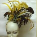 As plumas são as prediletas para enfeitar os cabelos (Foto: Divulgação)