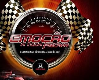 Promoção Honda Emoção a Toda Prova